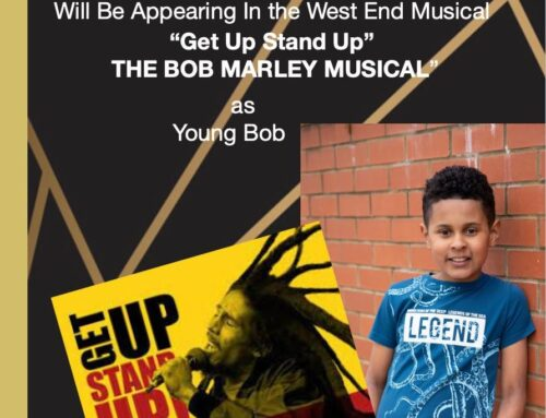 """FK Dance Academy student Maxwell will be playing young Bob in """"Get Up Stand Stand Up"""" The Bob Marley Musical in West End"""